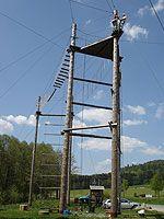 Lanové centrum Malevil, zdroj www.adrenalinpark.com