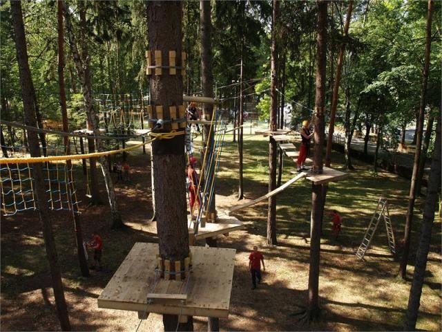 Lanový park SAMBAR Kladno