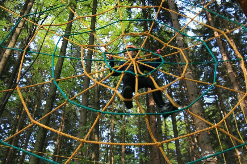 Horský lanový park Tarzanie