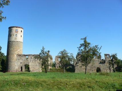 Hrad Zvířetice, zdroj www.bakovnj.cz