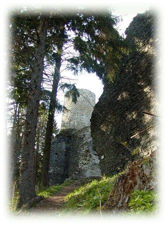 Hrad Volfštejn - Městečko Černošín