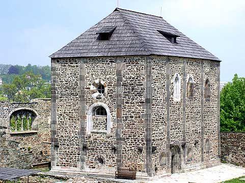 Chebský hrad, zdroj www.chebskyhrad.cz