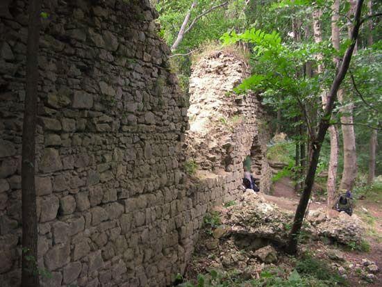 Hrad Obřany - Chvalčov