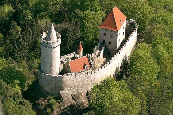 Kokořín, zdroj www.hrad-kokorin.cz