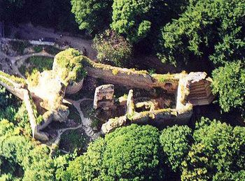 Hrad Cimburk - Chřiby