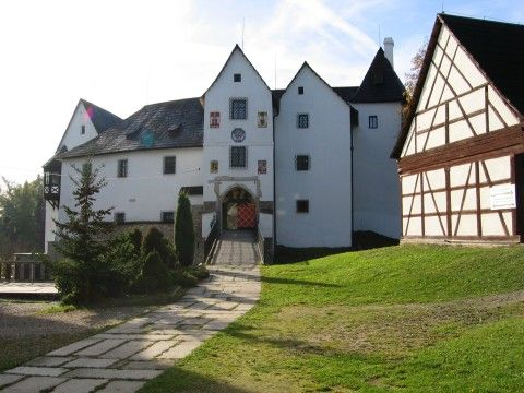Hrad Seeberg - Ostroh