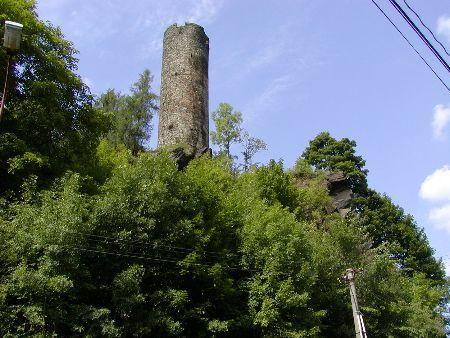 Hrad Neuberg - Podhradí