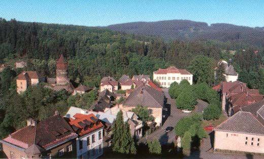 Piirkštejn, zdroj www.obecrataje.cz