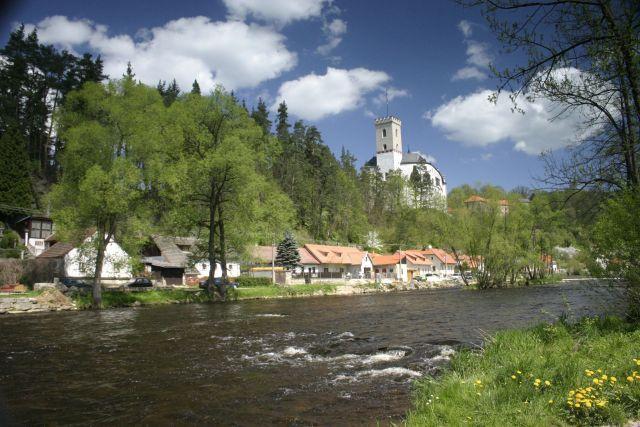 Rožmberk, zdroj www.hrad-rozmberk.eu