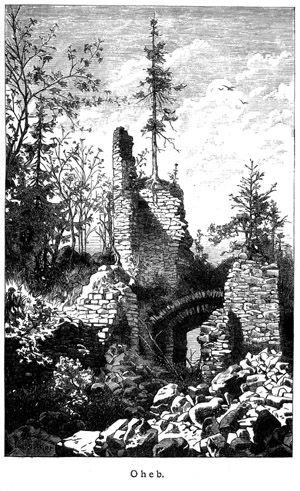 Hrad Oheb - Seč