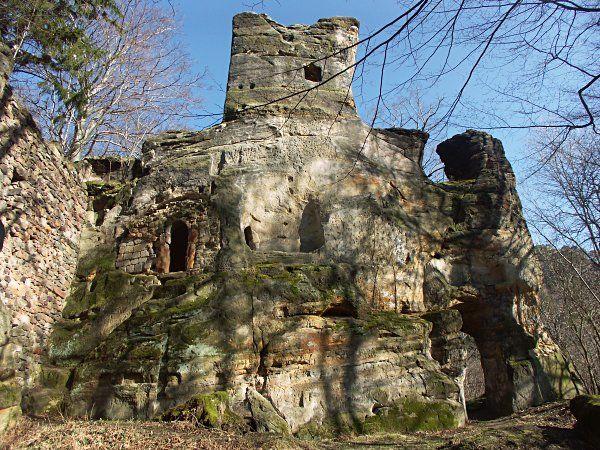 Skalní hrad Svojkov