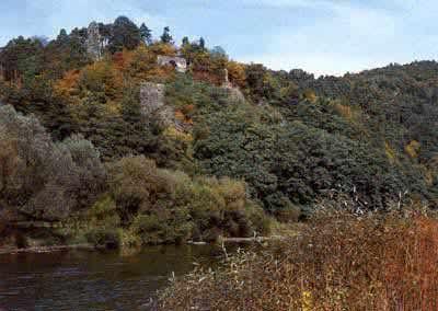 Hrad Kostelec na Sázavě - Zbořený Kostelec