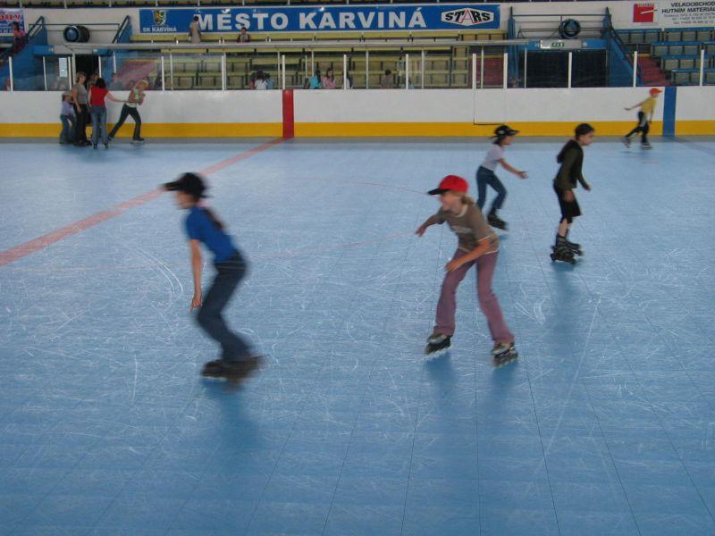 Zimní stadion Karviná - plocha pro in-line, zdroj www.stars-karvina.cz