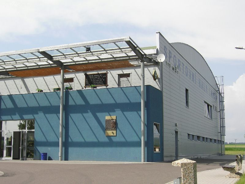 Zimní stadion Lanškroun - Hala B. Modrého