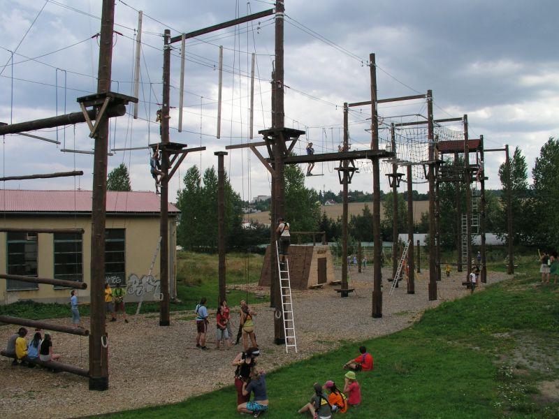 Lanový park Siesta, zdroj www.siesta-park.cz