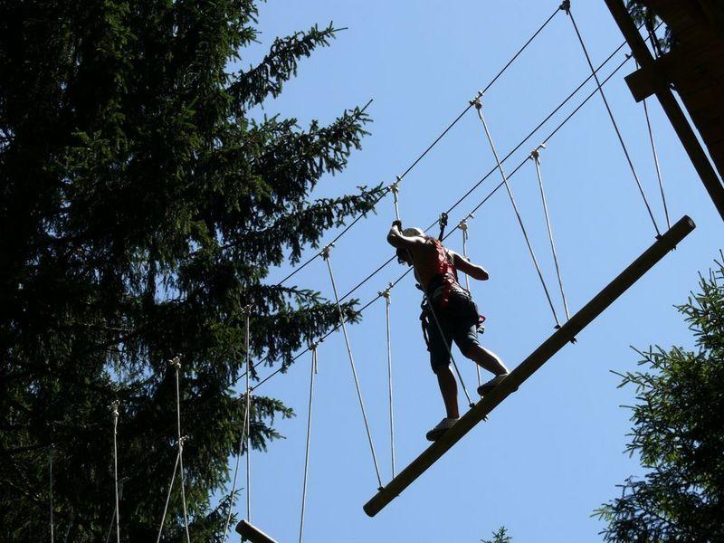 Lanové centrum Libín, zdroj www.adrenalin-libin.cz