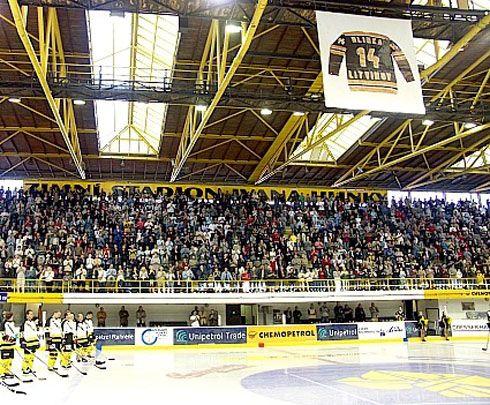 Zimní stadion Litvínov, zdroj www.hokej-litvinov.cz