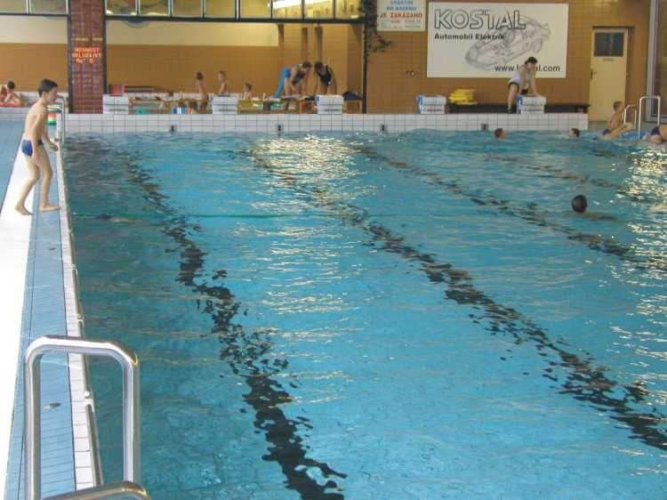 Plavecký bazén města Hořice