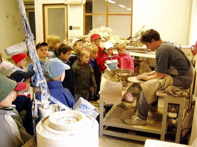 Školní výlet do výtvarné a keramické dílny