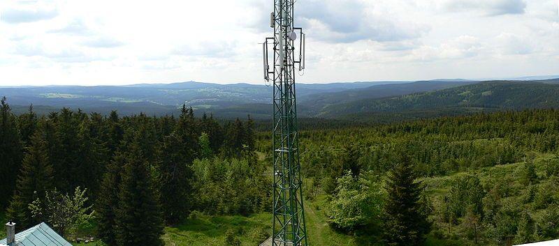 Výhled z rozhledny Blatenský vrch u Horní Blatné - autor Tuten, licence CC 3.0 http://creativecommons.org/licenses/by-sa/3.0/deed.cs