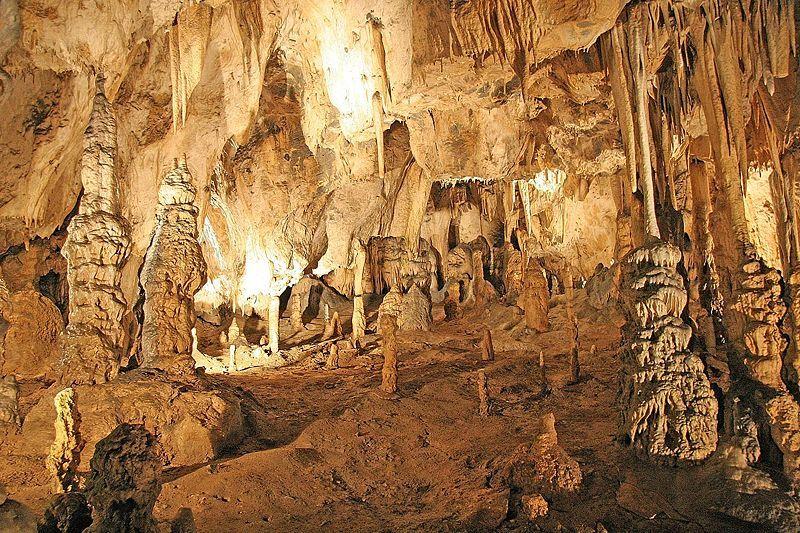 Sloupsko-šošůvské jeskyně - Eliščina síň - autor Prazak, licence CC 3.0 http://creativecommons.org/licenses/by-sa/3.0/deed.cs