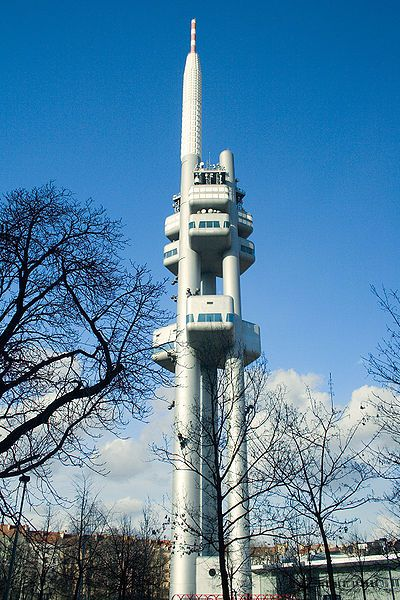 Rozhledna Žižkovský vysílač v Praze