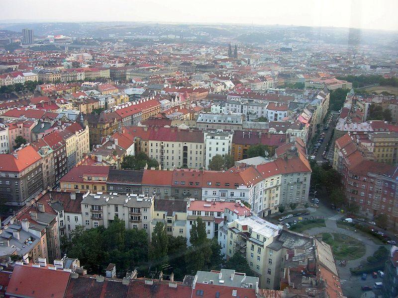 Rozhledna Žižkovský vysílač v Praze - autor Šjů, licence CC 3.0 http://creativecommons.org/licenses/by-sa/3.0/deed.cs