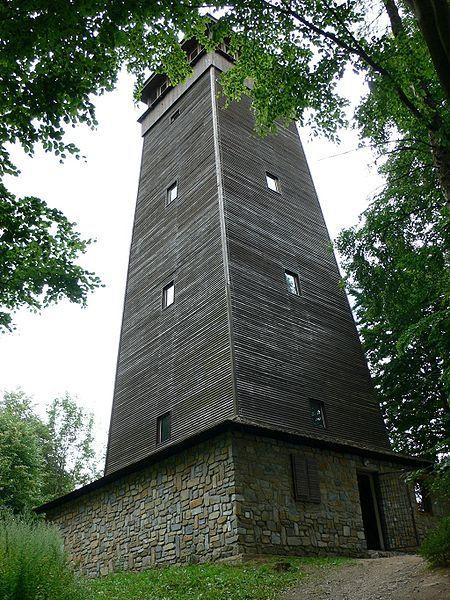 Rozhledna Háj u Šumperka - autor Petram, licence CC 3.0 http://creativecommons.org/licenses/by-sa/3.0/deed.cs,