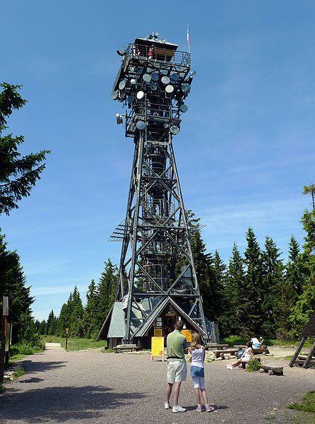 Rozhledna Černá hora u Janských Lázní - autor Petr Vilgus, licence CC 3.0 http://creativecommons.org/licenses/by-sa/3.0/deed.cs,