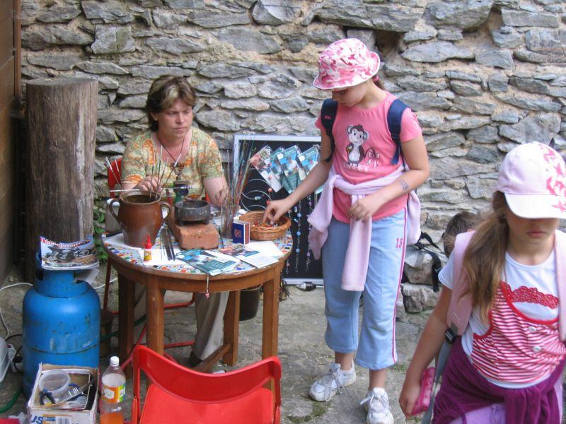 Šumavská řemesla a soutěže pro děti