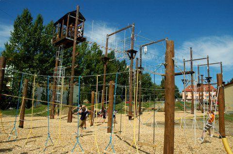 Školní exkurze - Výzva v lanovém centrum