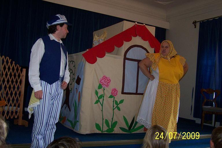 33. Dětské divadelní dny - Pohádková zoo - Divadlo KAPSA Andělská hora