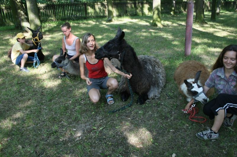Zoo Hodonín - Zookroužek Lama klub