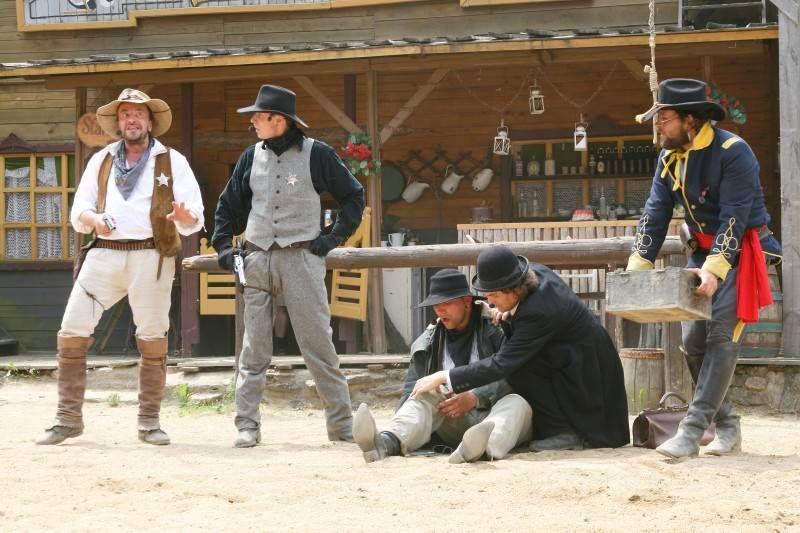 Westernové městečko Šiklův Mlýn - Dětský den s Algidou
