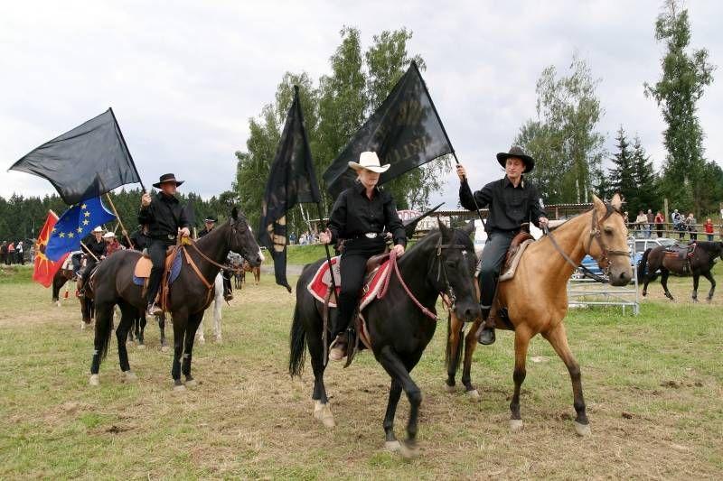 Westernové městečko Šiklův Mlýn - Velký den koní se Starobrnem