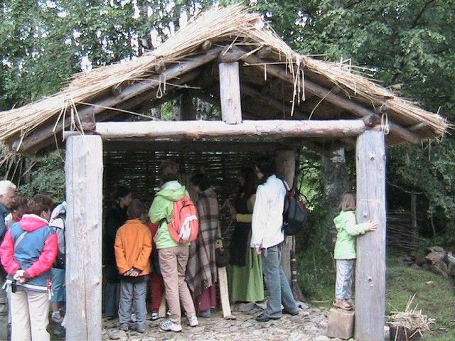 Archeopark Prášily - ukázky řemesel