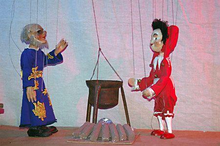 Mariánská Týnice - Loutkové divadlo