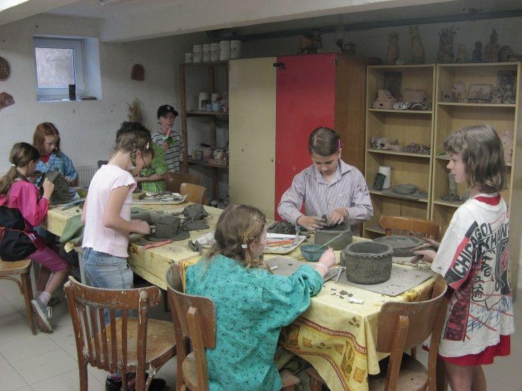 DDM Blatná - Keramická dílna, keramika