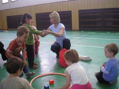 RC Slůně Bohumín - Cvičení rodičů s dětmi