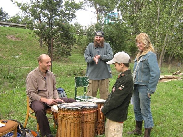 SVČ Brno - Lampa - Klub kapel - hra na bicí soupravu
