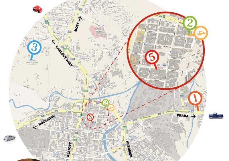 Školní výlet s Divadlem Alfa po Plzni