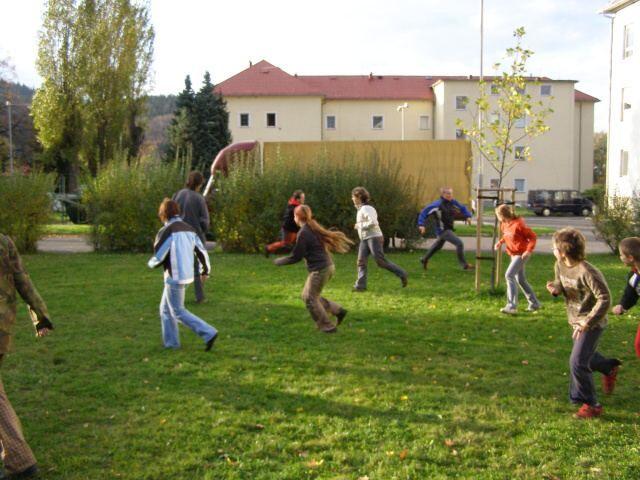 CVČ Astra Frenštát - Pohybové a naučné hry