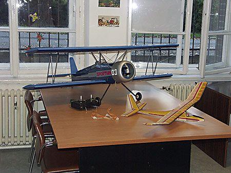 DDM Horní Bříza - Letecký modelář
