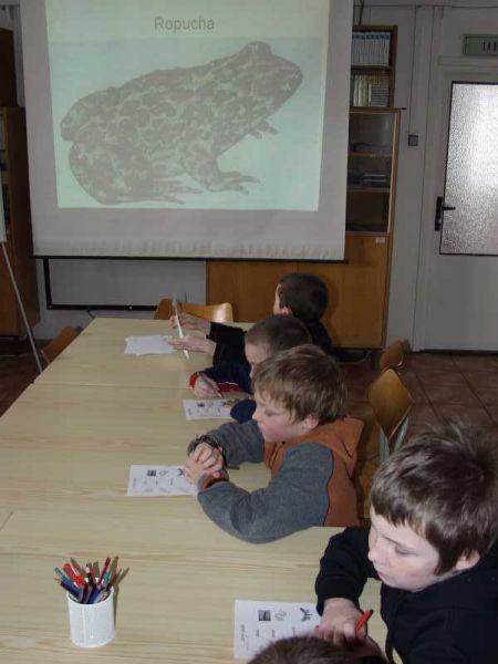 Přírodovědná stanice Horažďovice - Výukové programy pro školy