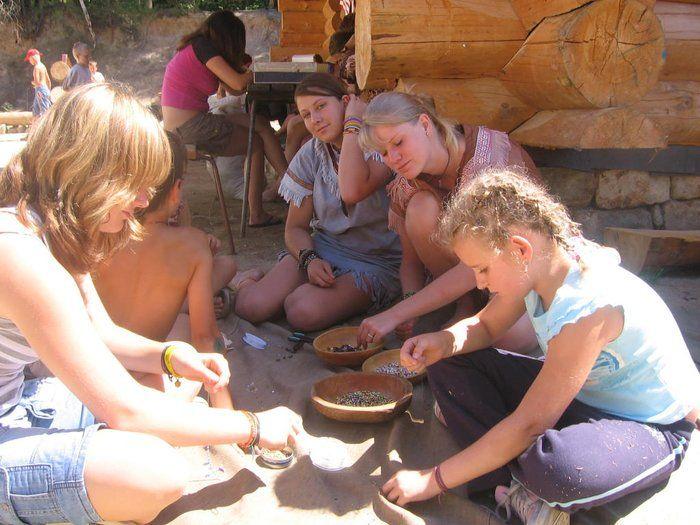 Western Park Boskovice - Dětský indiánský tábor