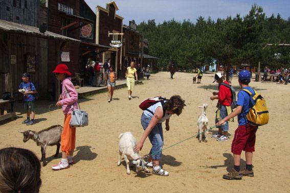 Western park Boskovice - Školní výlet