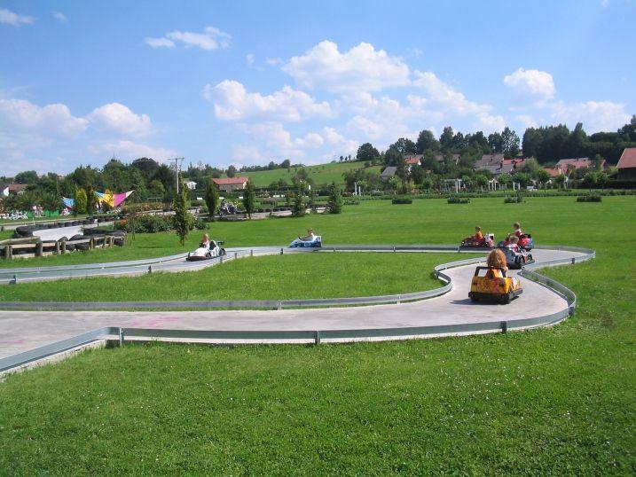 Churpfalzpark Loifling - Zábavný park u Chamu, Německo