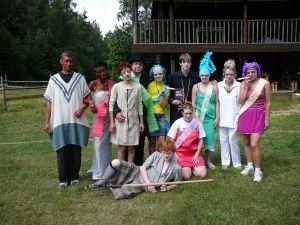 Stonetown westernové městečko - Dětské letní tábory
