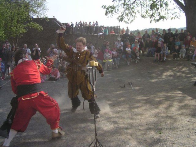 Hrad Svojanov - Školní exkurze