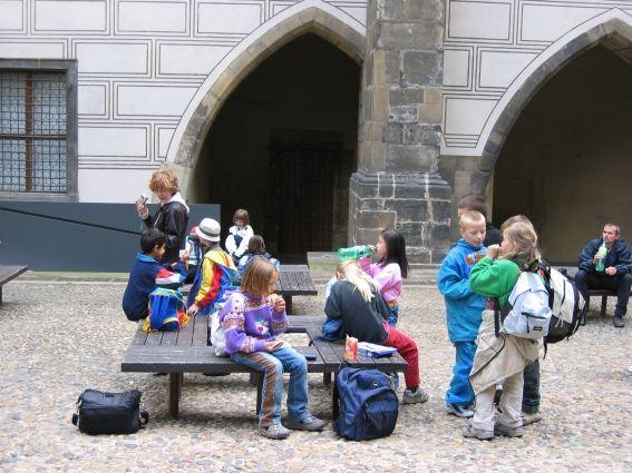 Pražský hrad - Školní exkurze
